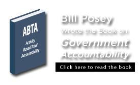 Bill Posey wrote the book on Government Accountability